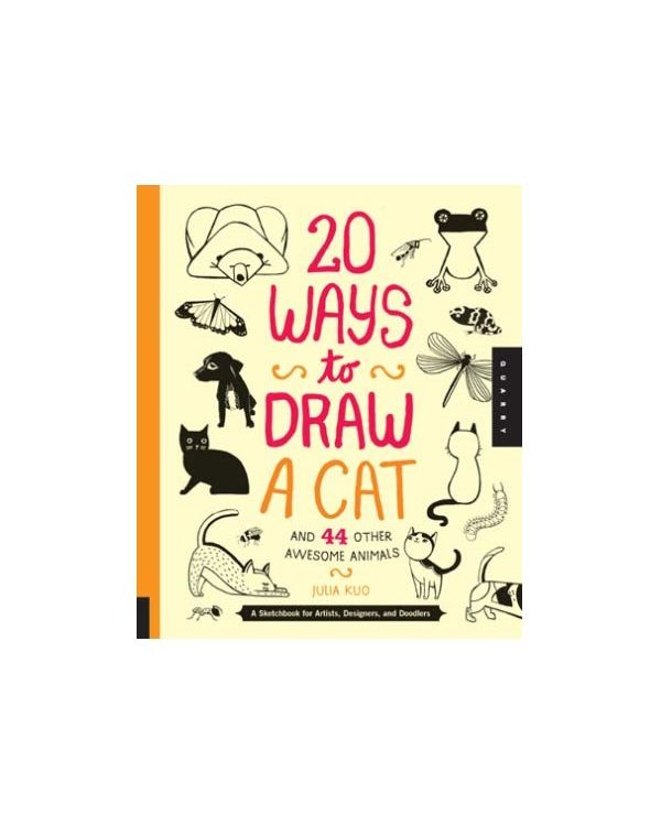 20 Ways to Draw A Cat by Julia Kuo