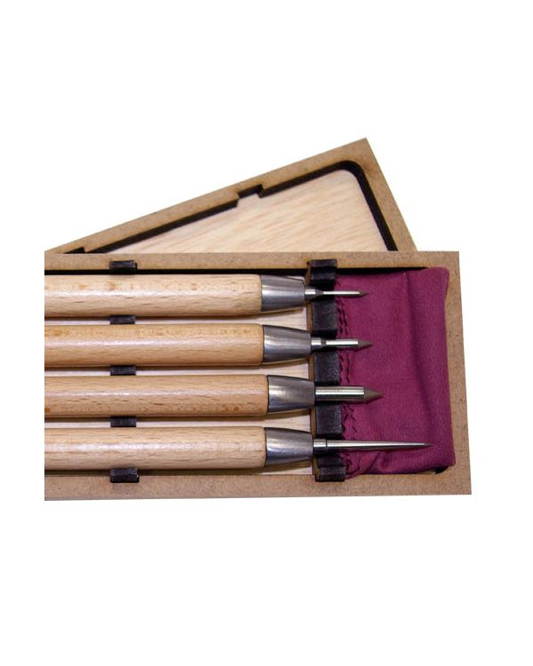 Boxed set of 4 Professional drypoints - Arteina
