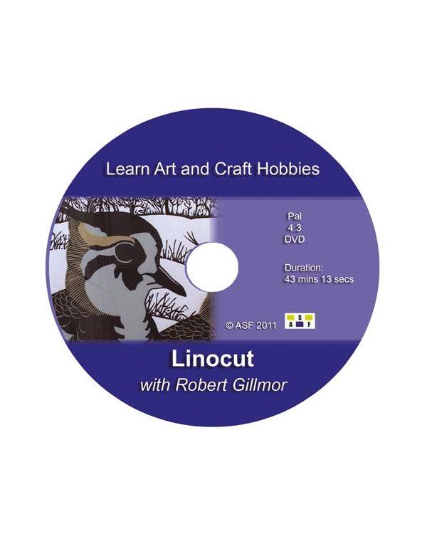 Linocut with Robert Gillmoor - DVD