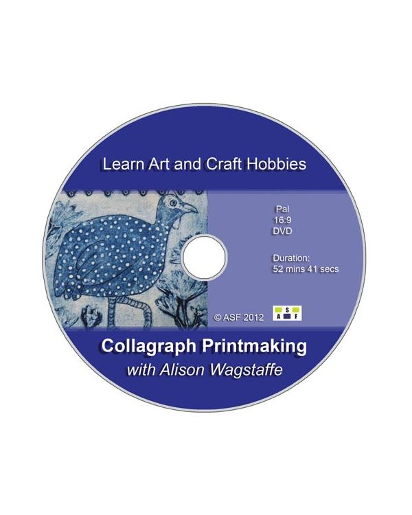 Collagraph Printmaking with Alison Wagstaffe - DVD