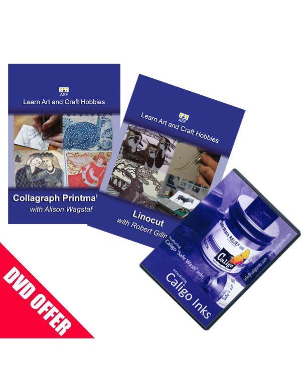 Set of 3 Printmaking DVDs
