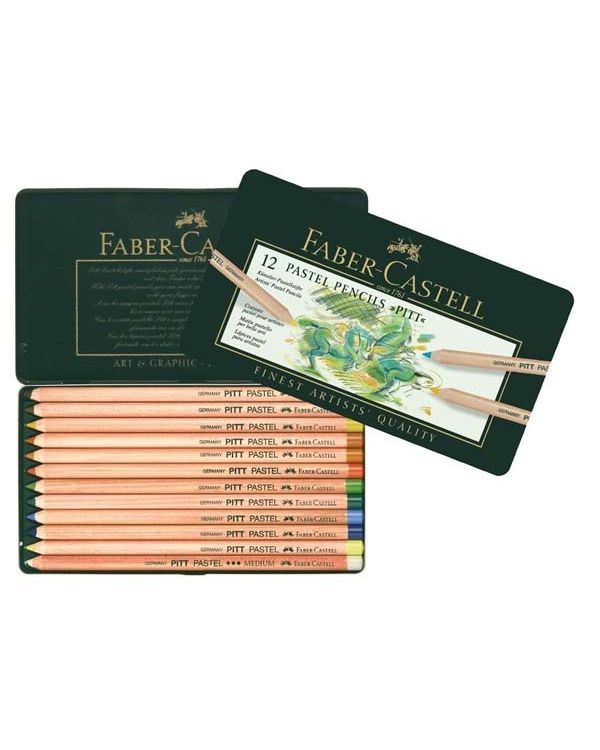 Faber Castell Pitt Pastel Pencil Sets
