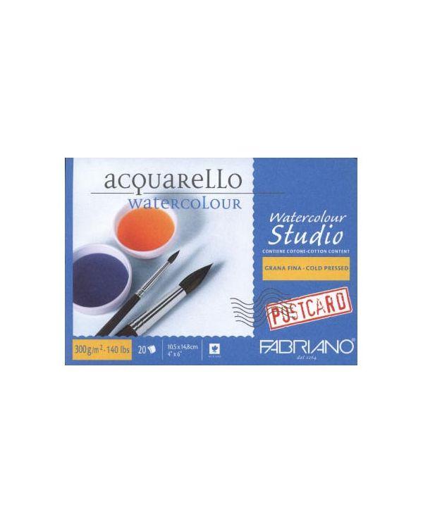 """4 x 6"""" - Watercolour Postcard Block - Fabriano"""