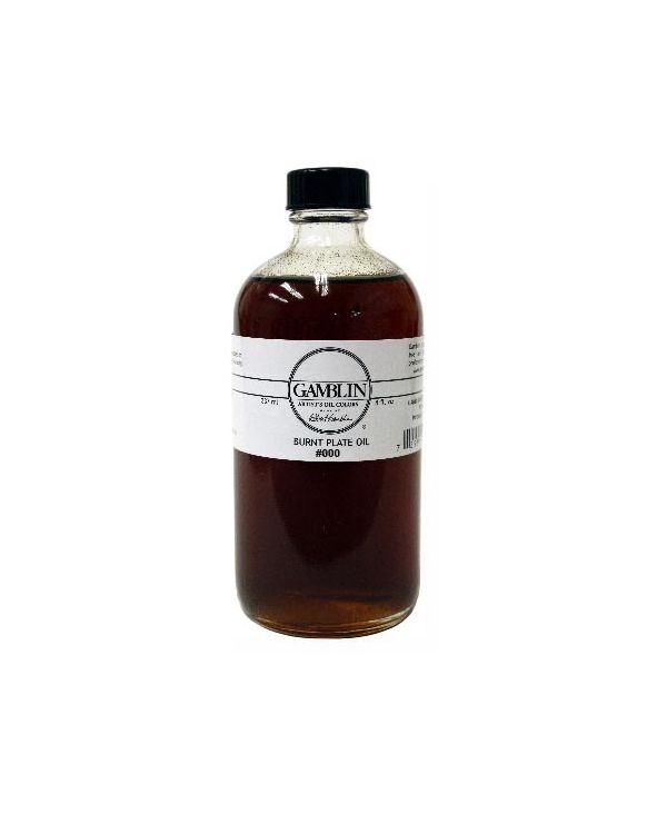 Burnt Plate Oil - 237ml - Gamblin Relief