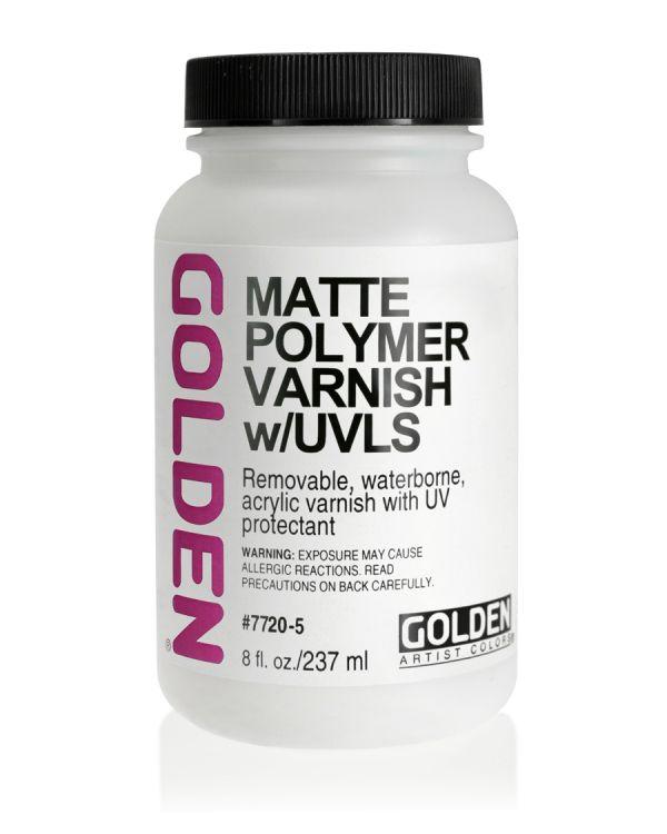 Golden Water Based Polymer Varnish