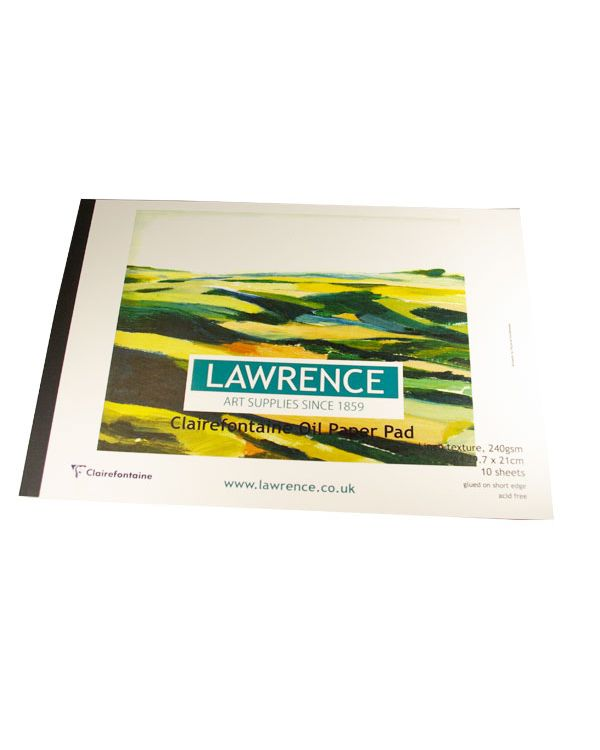 A4 240gsm Clairefontaine Oil Paper Pad - 10 sheets - Lawrence