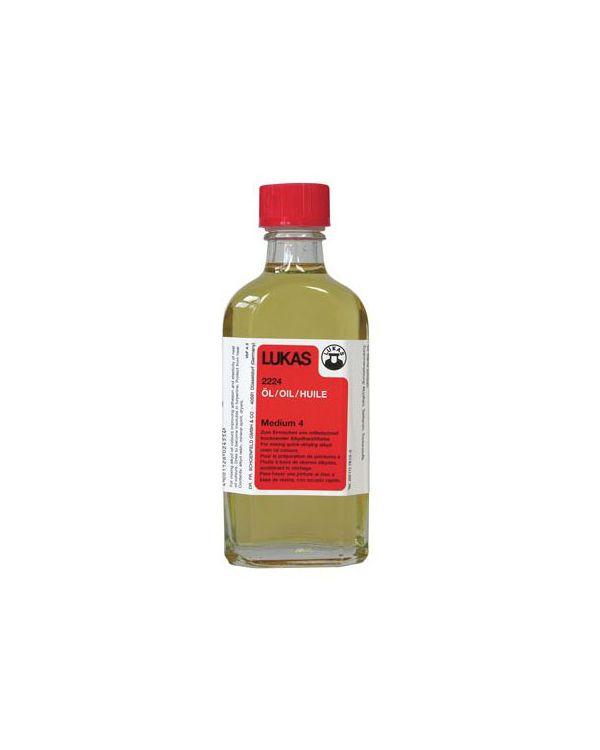125ml - Alkyd Oil Medium No.4 Lukas