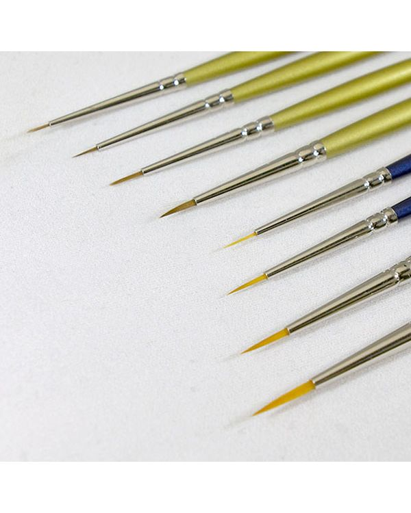 Brush set 8 Artists Modelmakers Miniature Brushes for Extra Fine Detail (Lawrence)