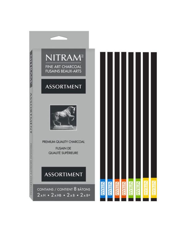 Nitram Assorted Stylus refills set of 8