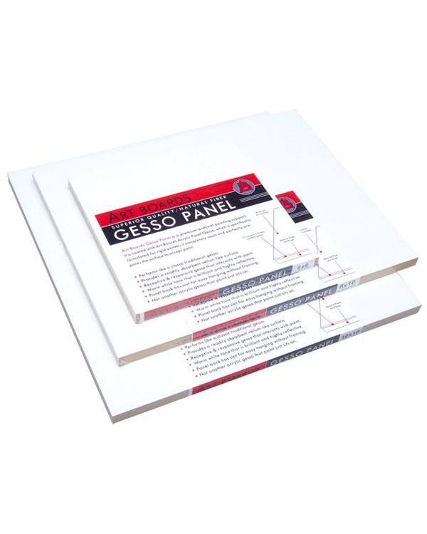 Art Boards Gesso Coated MDF Panel