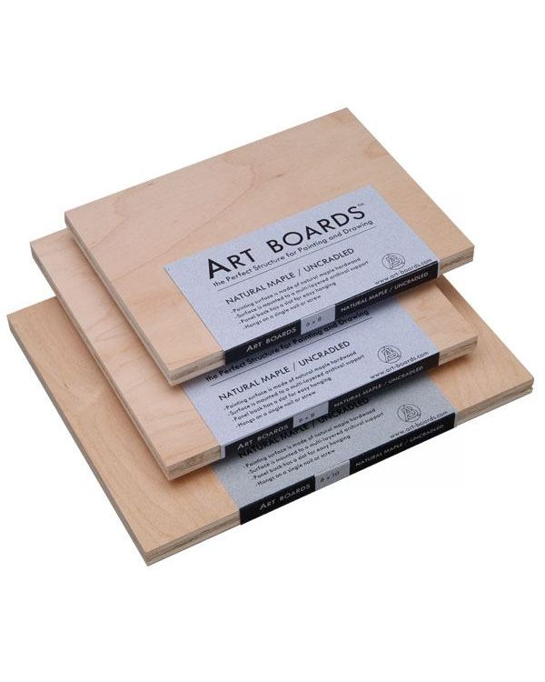 Art Boards Natural Maple Uncradled Panel