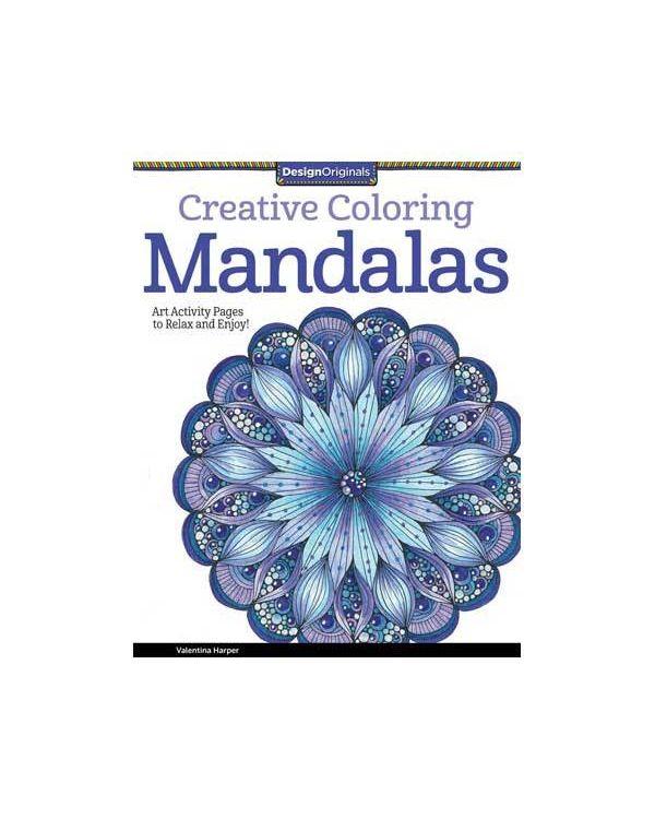 Creative Colouring Mandalas by Valentina Harper