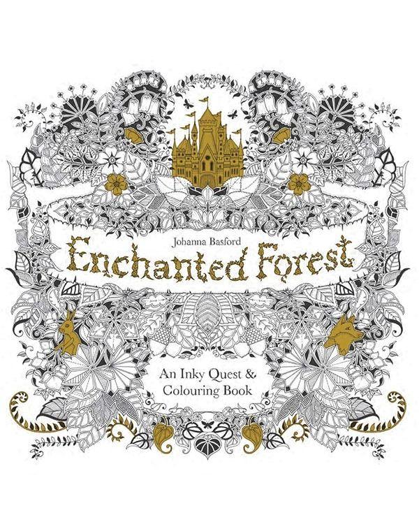 Enchanted Forest - Johanna Basford