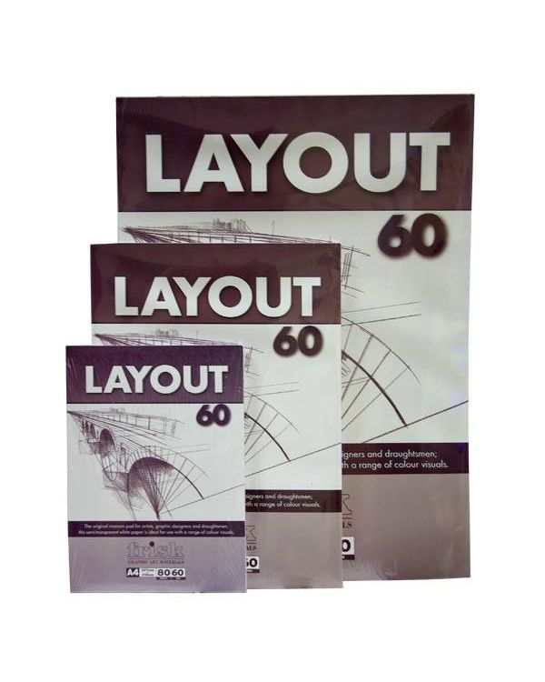 60gsm - Layout Pad - Frisk