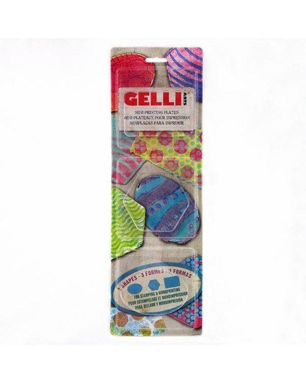 Mini Gelli Printing Plate