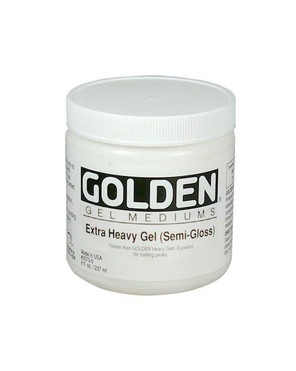 Semi Gloss - 473ml - Golden Extra Heavy Gel