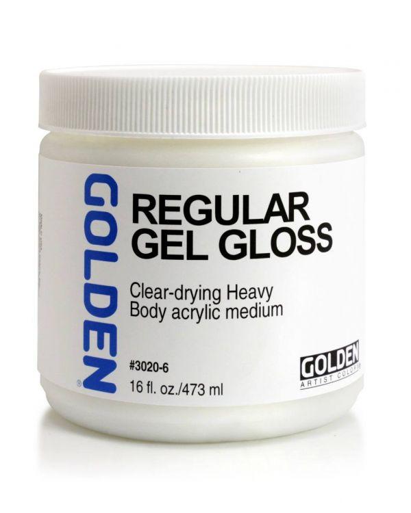 Gloss - 473ml - Golden Regular Gel