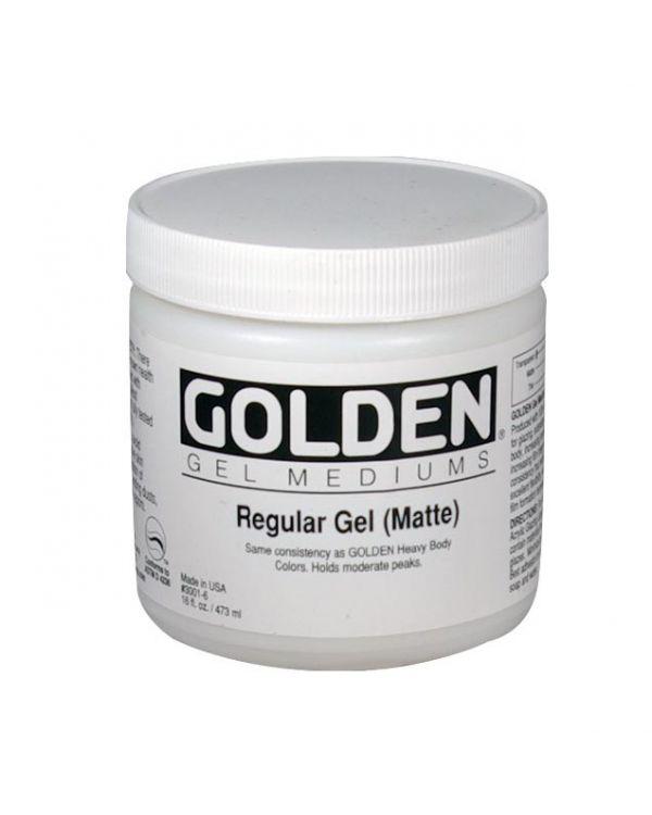 Matte - 473ml - Golden Regular Gel