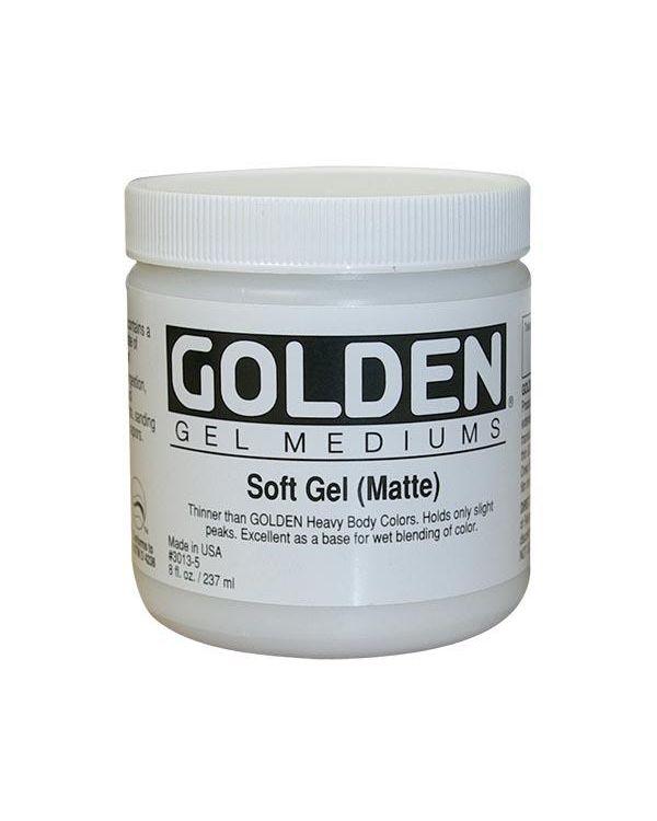Matte - 473ml - Golden Soft Gel