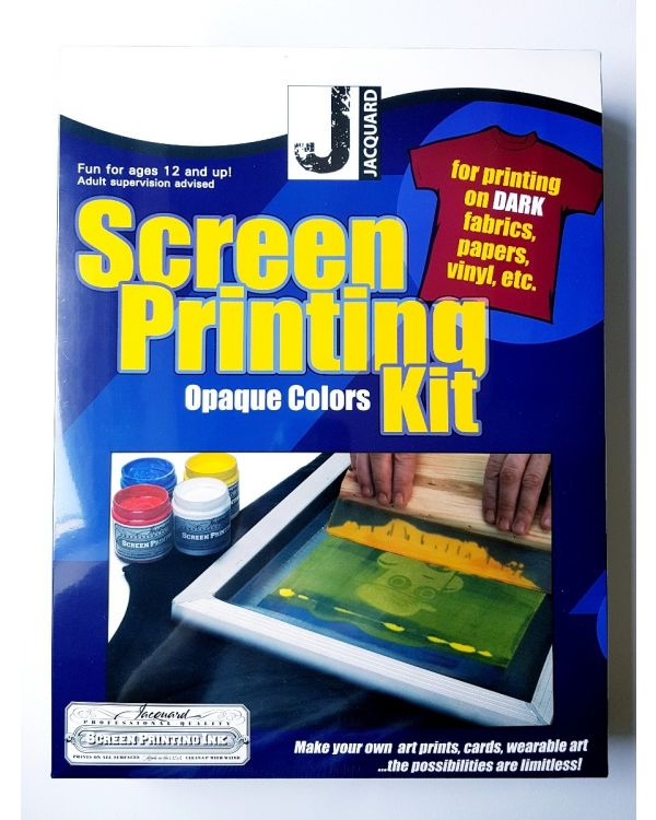 Screen Printing Kit Opaque Colours - Jacquard JSI9001