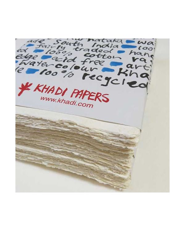 Khadi White Cotton Rag Pack