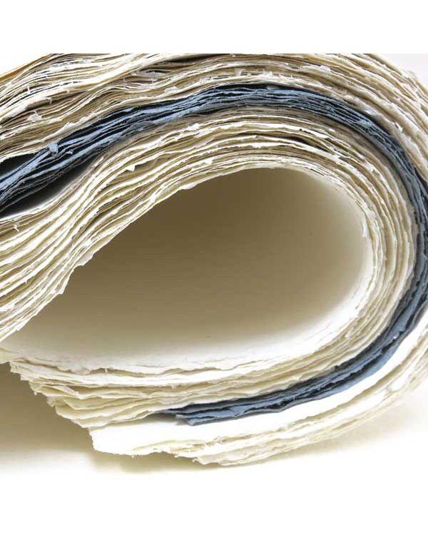 Khadi White Cotton Rag