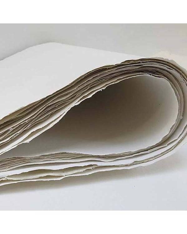 *400gsm - R43 White Rough - 80 x 200cm - Khadi Rag