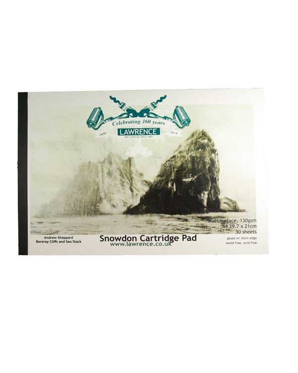 A4 - 130gsm Snowdon Cartridge Pad 160 year Special Edition - Lawrence