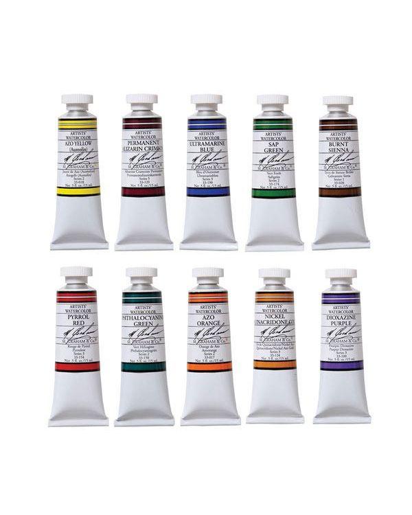 15ml - M Graham Watercolour Set