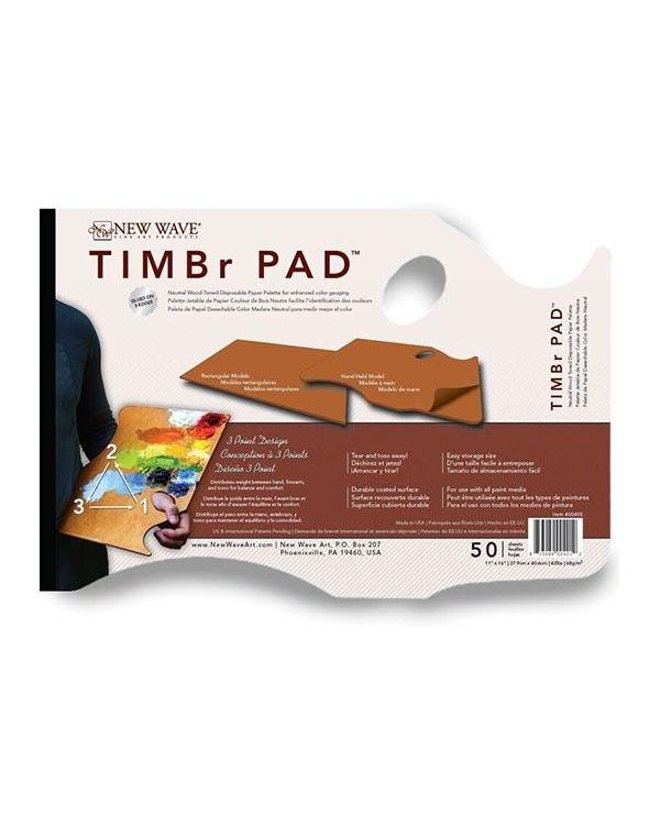 TIMBr Disposable Palette - New Wave