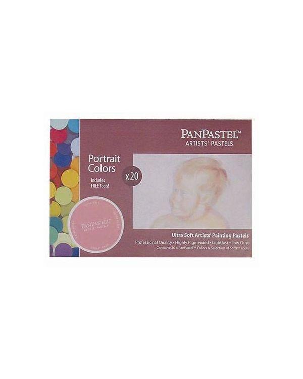 PanPastel 20 Colour Starter Set - Portrait