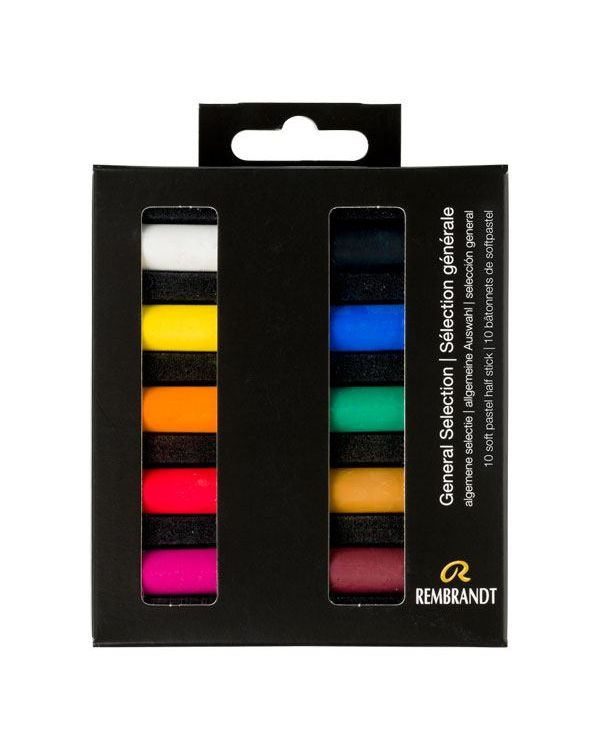 Soft Pastel Micro Set of 10 - Rembrandt