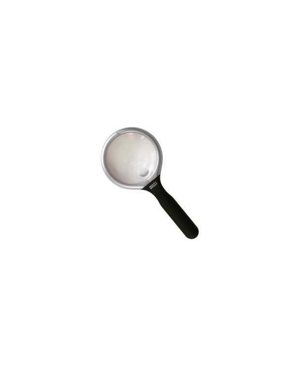 "3"" Round Magnifier - silver"