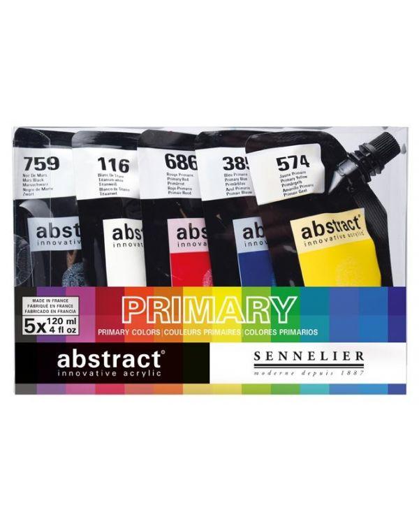 - Sennelier Abstract Set 5x120ml