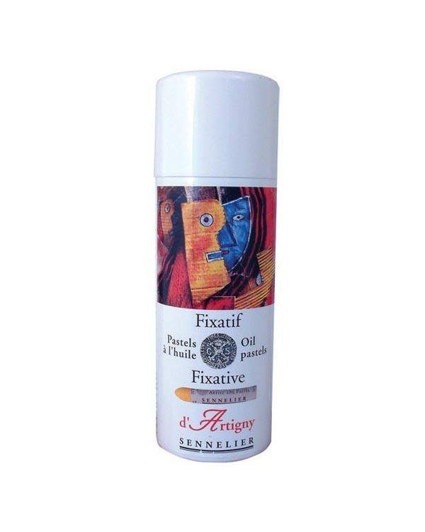 400ml Aerosol - Sennelier Oil Pastel Fixative -