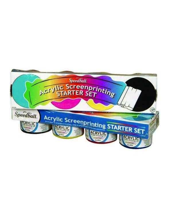 Speedball Acrylic Screen Printing Starter Set