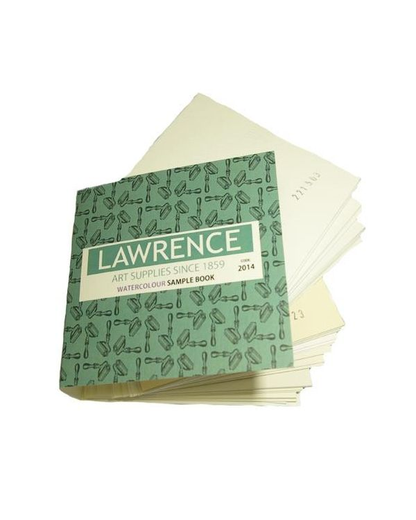 General Watercolour Papers Sample Book